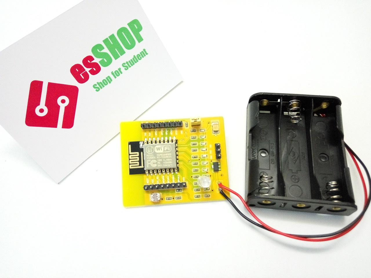 Board develop ESP8266 + Battery box