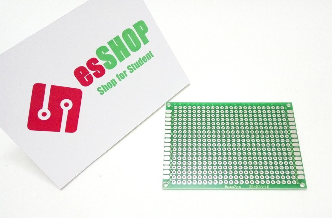B0274 - Test Board Hàn 2 Mặt 50x70mm