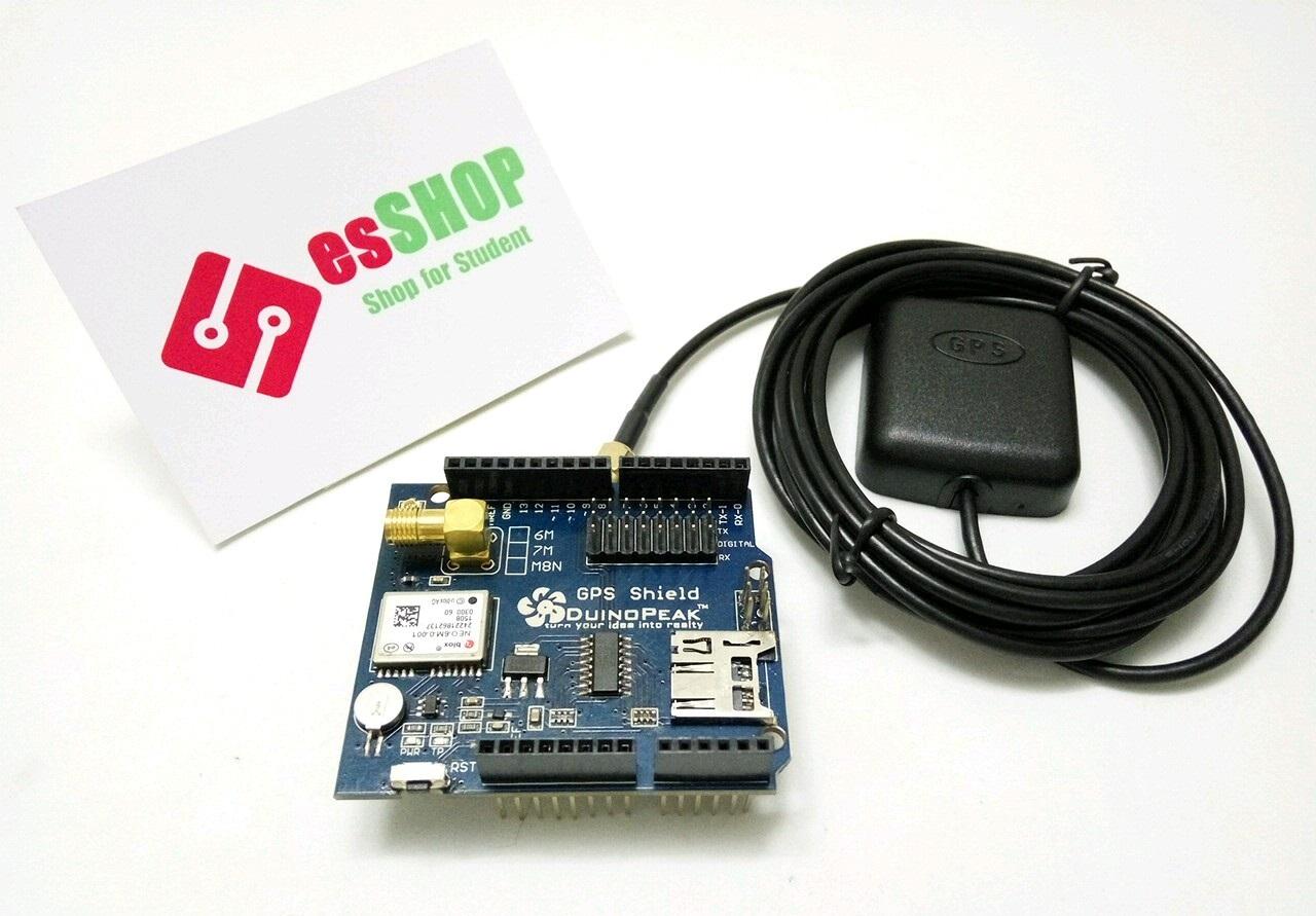 B0366 - Arduino GPS Shield Ublox NEO 6M