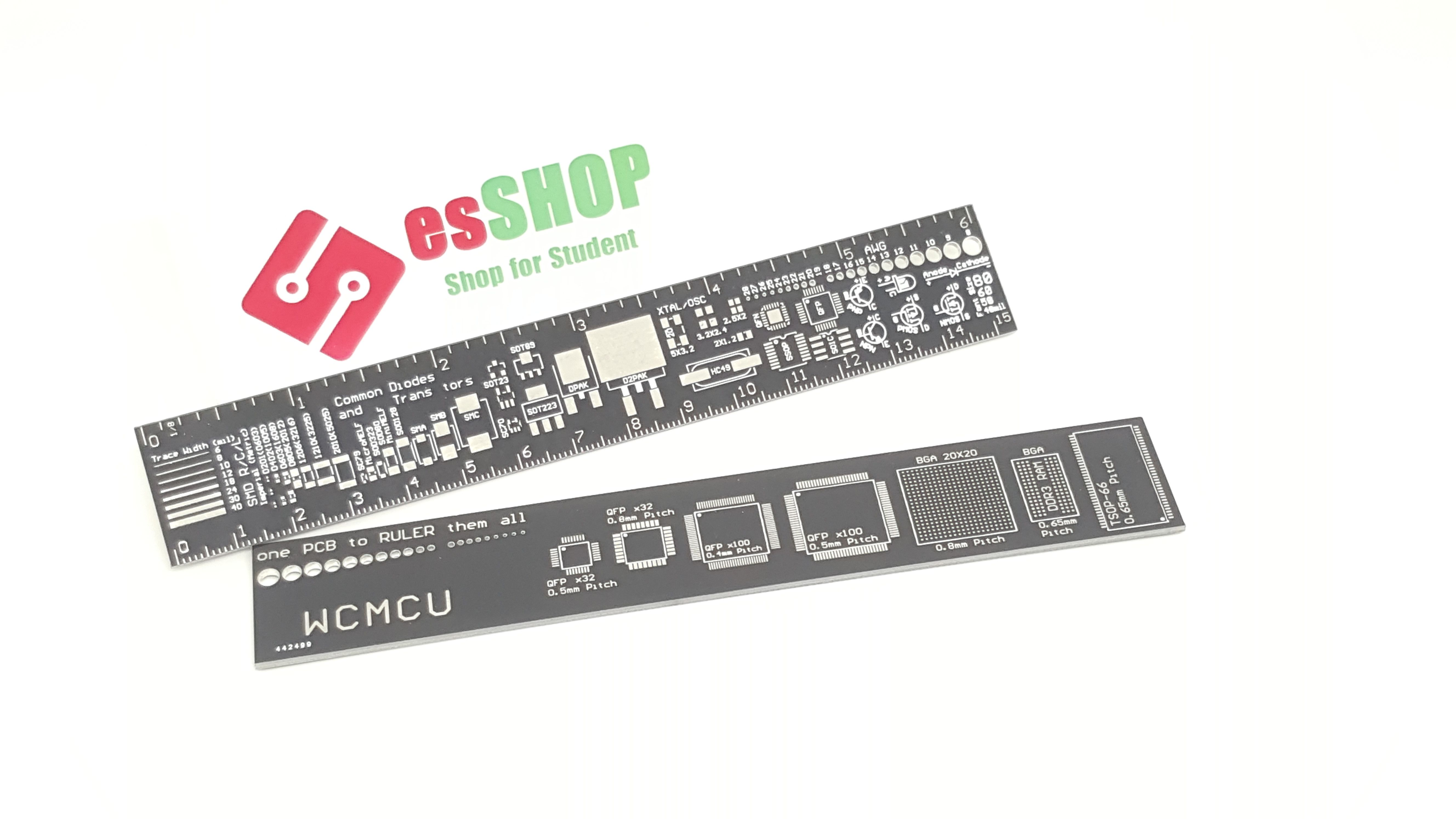 B0452 - Thước PCB 15cm