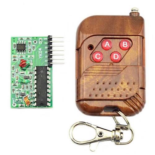 B0463 - Bộ điều khiển từ xa RF 433Mhz 4 kênh PT2272 M4