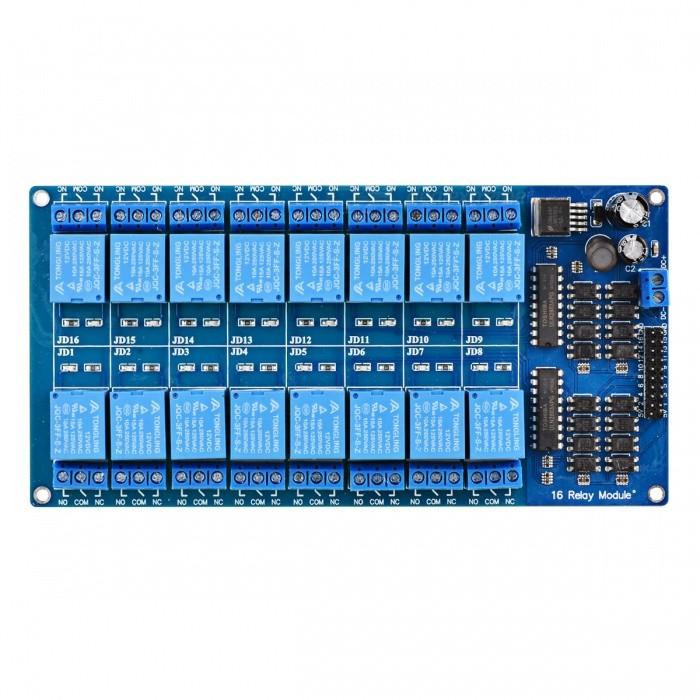 B0464 - Module 16 Relay Với Opto Cách Ly 5V