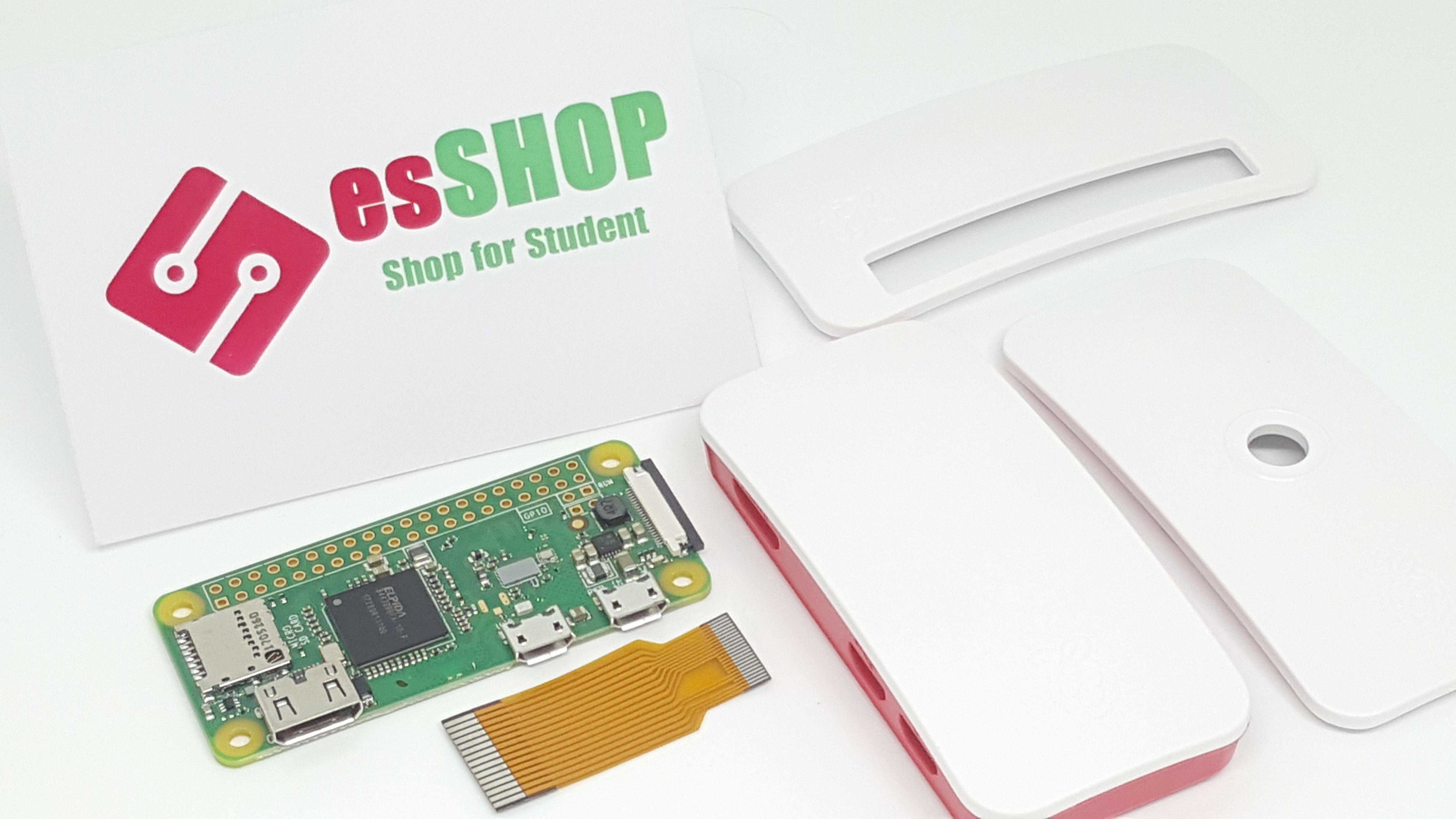 B0475 - Combo Raspberry Zero W + 3 bộ vỏ