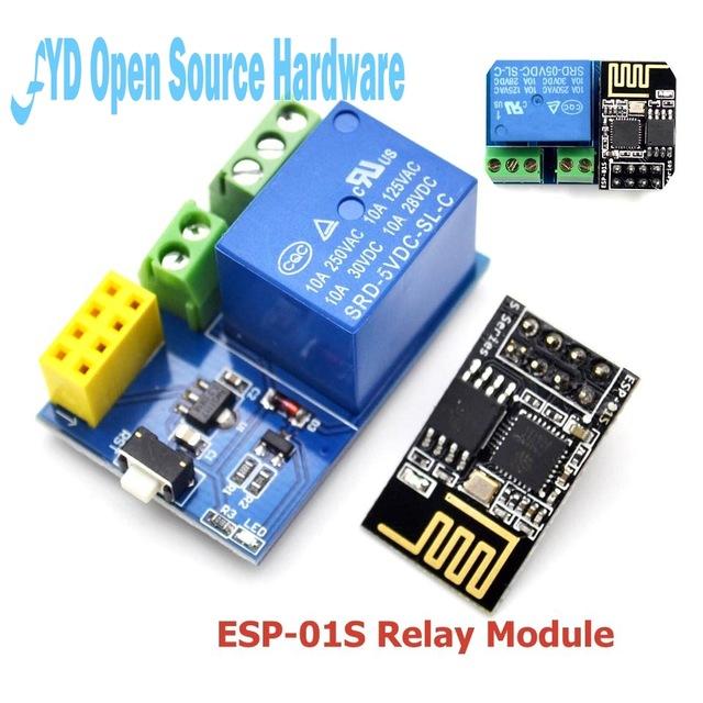 B0478 - ESP8266 ESP-01S Relay Module ( Chưa bao gồm ESP8266 )