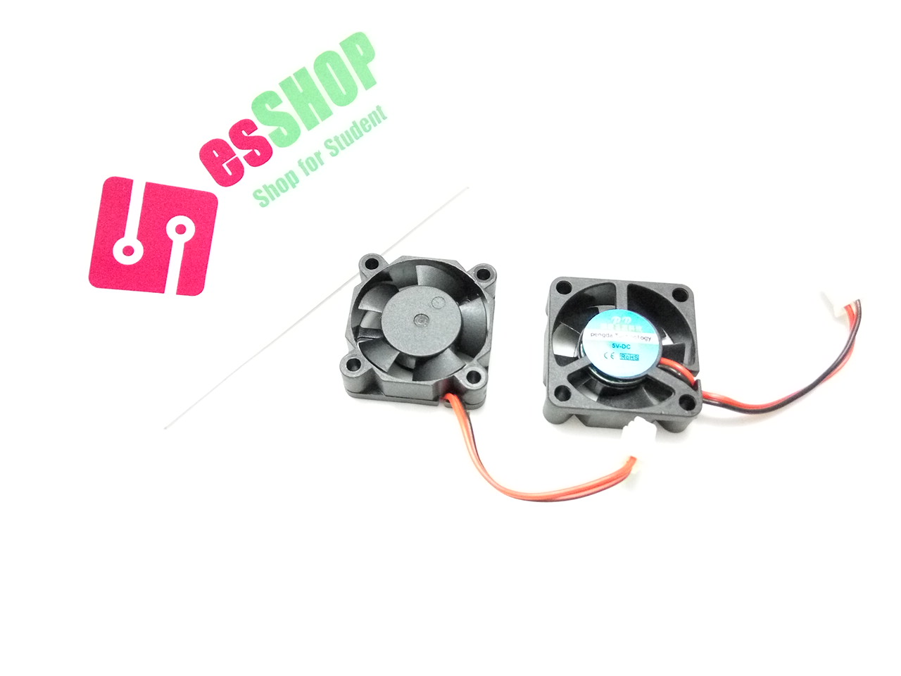 C0125 - Quạt tản nhiệt mini 30x30x10mm Raspberry 5V