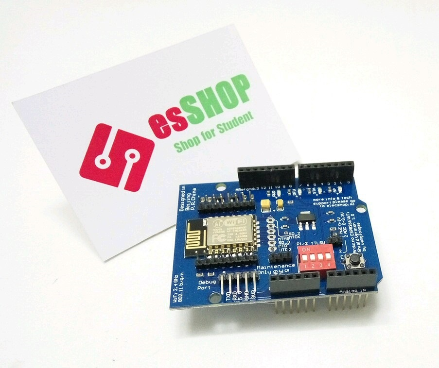 B0390 - Arduino ESP8266 Wifi Shield