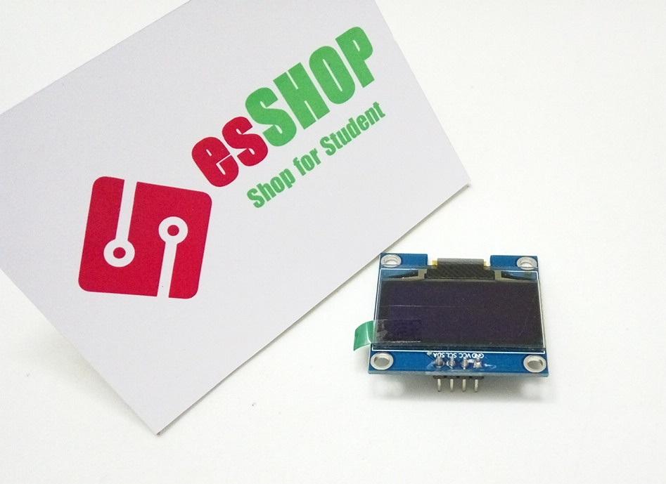"""Z3350B109 - Màn Hình OLED 1.3"""" IIC xanh dương"""