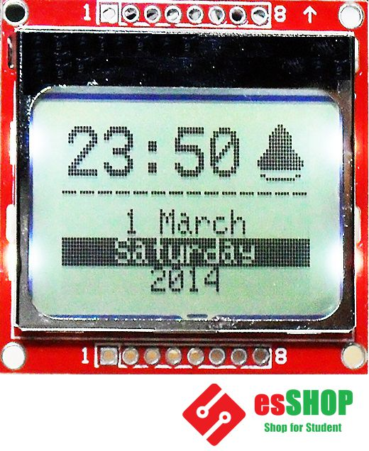 B0442 - Màn Hình LCD Nokia 5110