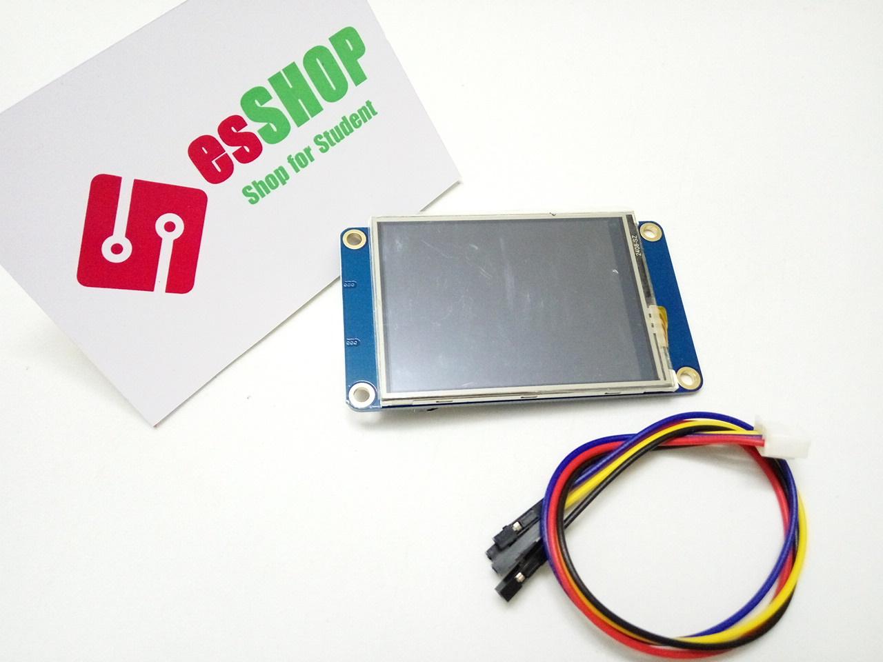 Z3350B114 - Màn Hình HMI UART Cảm Ứng Nextion (TJC) 2.4 Inch