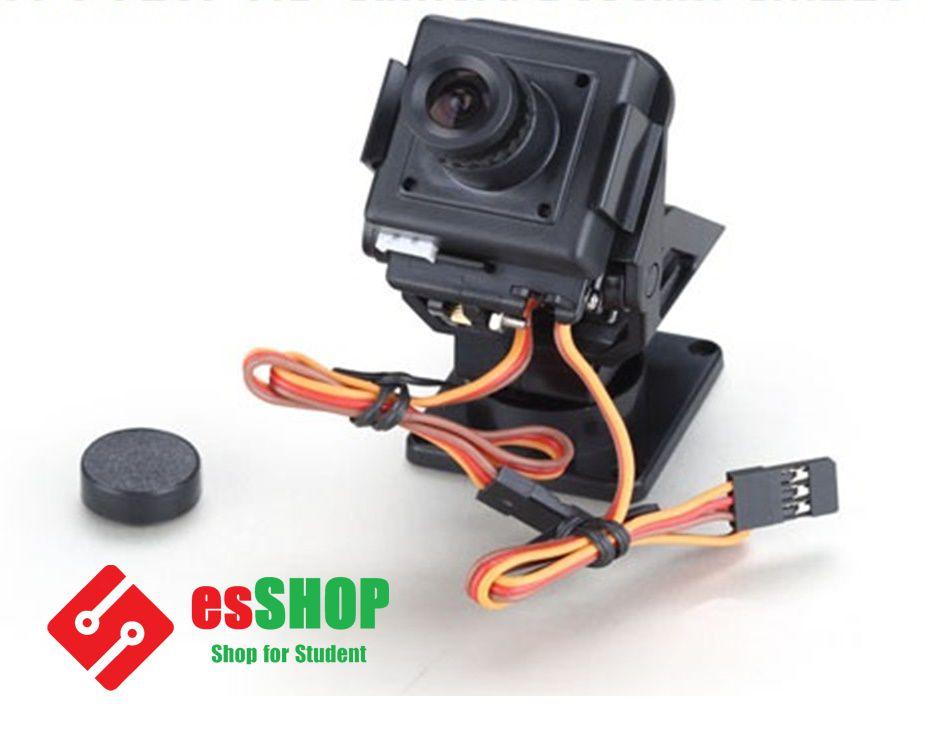 B0386 - Giá FPV Servo Camera, Cảm Biến Khoảng Cách