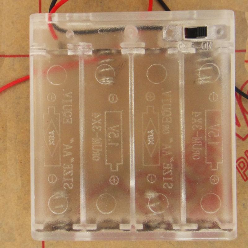 Z3350B321 - Hộp 4 Pin AA Có Công Tắc ON/OFF
