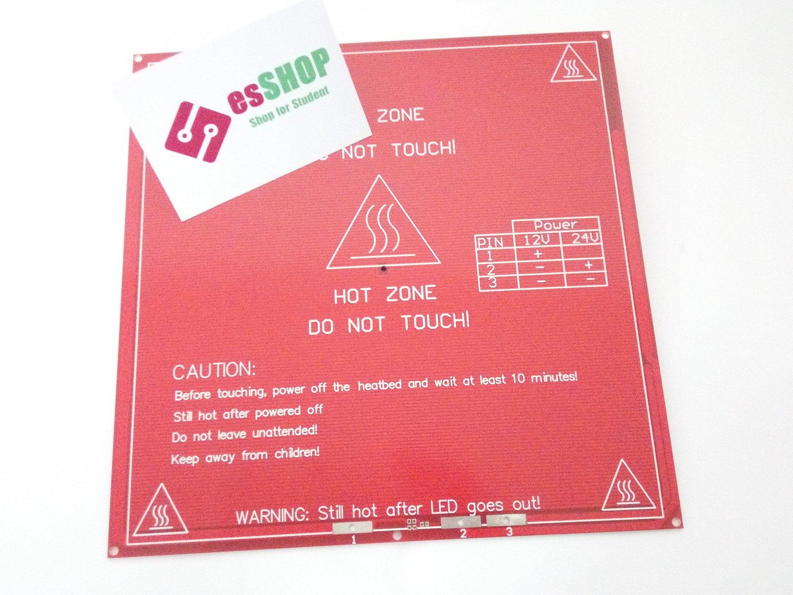 Z3350B802 - Bàn nhiệt vuông pcb Mk2b