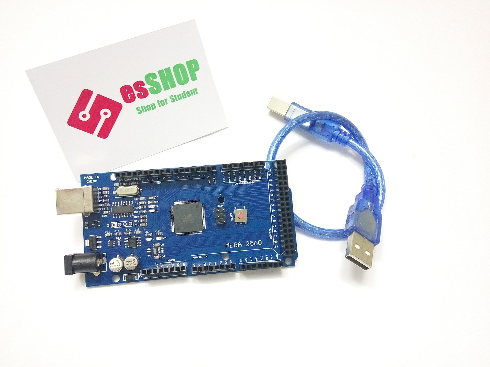 B0184 - Board Arduino Mega 2560 + Cáp USB