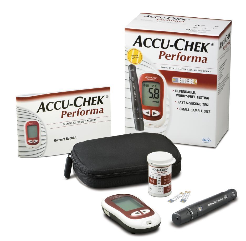 Máy đo đường huyết Rocche Accu-Chek Performa