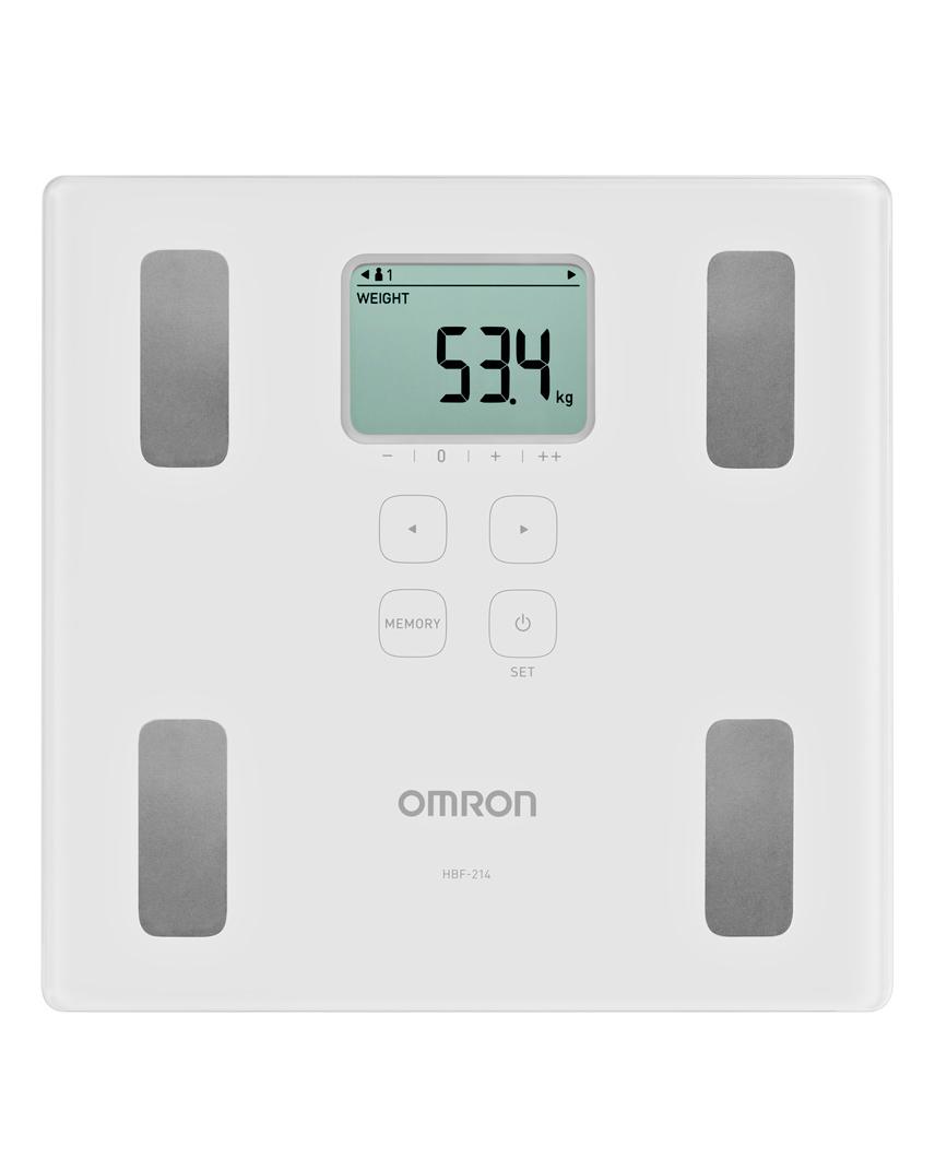 Cân đo lượng mỡ cơ thể Omron HBF 214