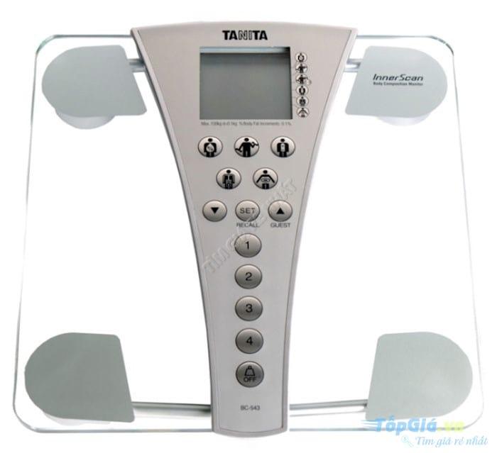 Cân sức khỏe và phân tích cơ thể Tanita BC-543