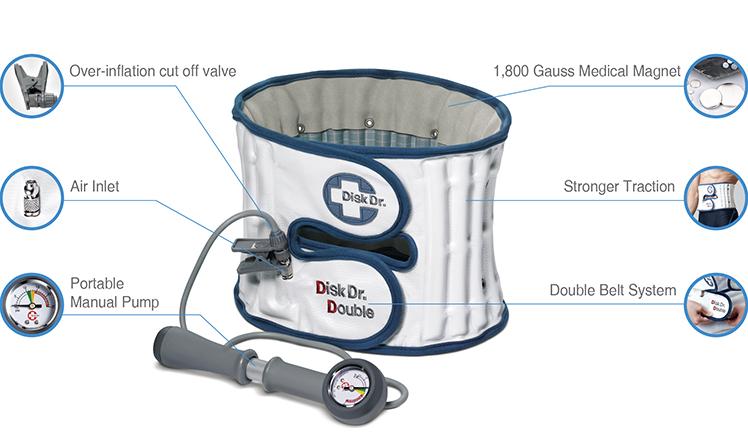 Đai kéo giãn cột sống lưng Disk Dr WG 50