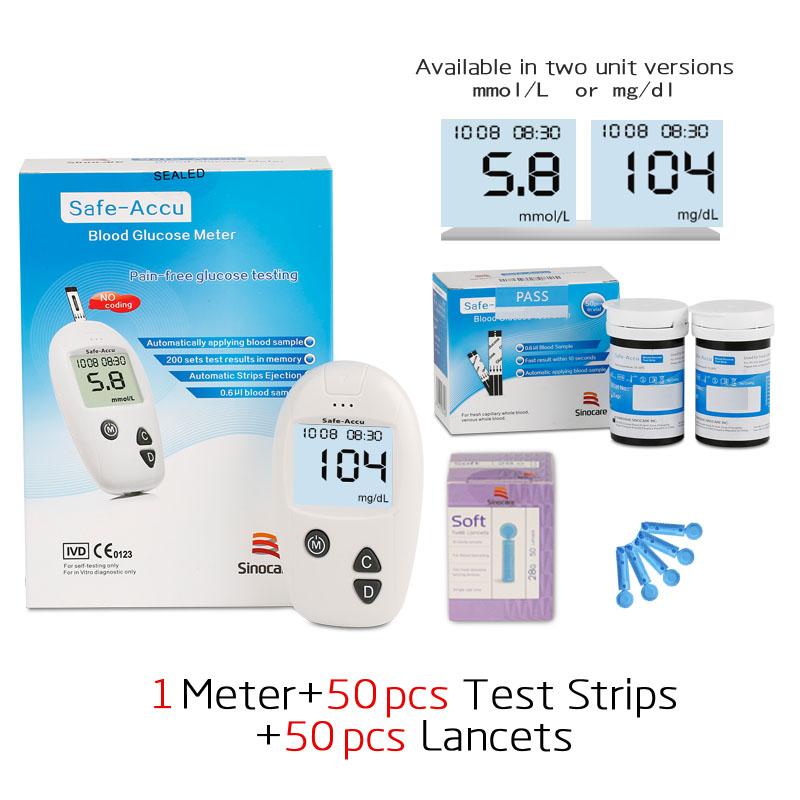 Máy đo đường huyết Safe accu - Safe- Accu