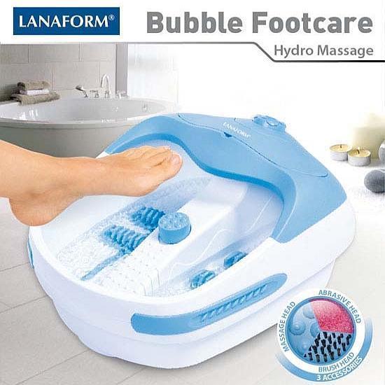 Bồn ngâm Massage chân Lanaform Bubble Footcare LA110412
