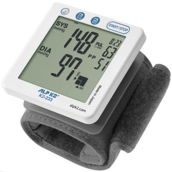 Máy đo huyết áp cổ tay ALPK2 K2-233