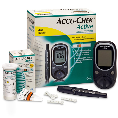 Máy đo đường huyết ACCU CHEK Active