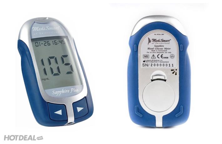 Máy đo đường huyết MediSmart Sapphire