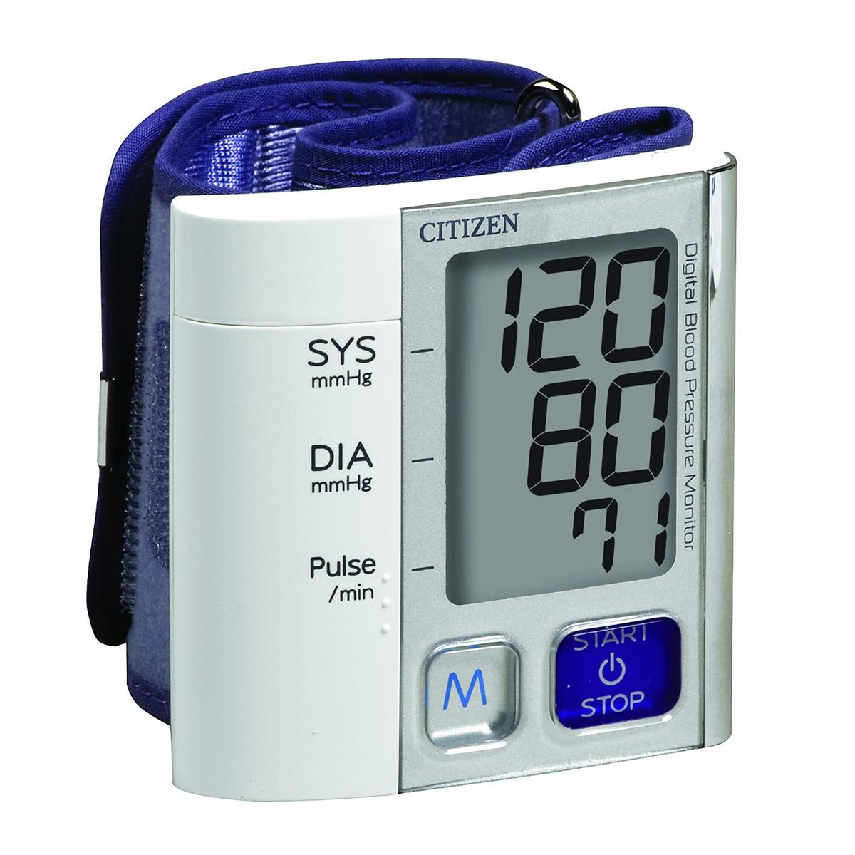 Máy đo huyết áp cổ tay Citizen CH - 657