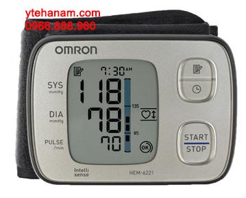 Máy đo huyết áp cổ tay Omron HEM-6221