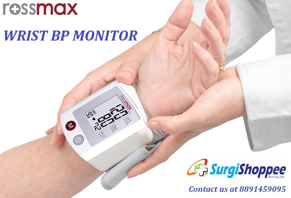 Máy đo huyết áp cổ tay Rossmax S-150