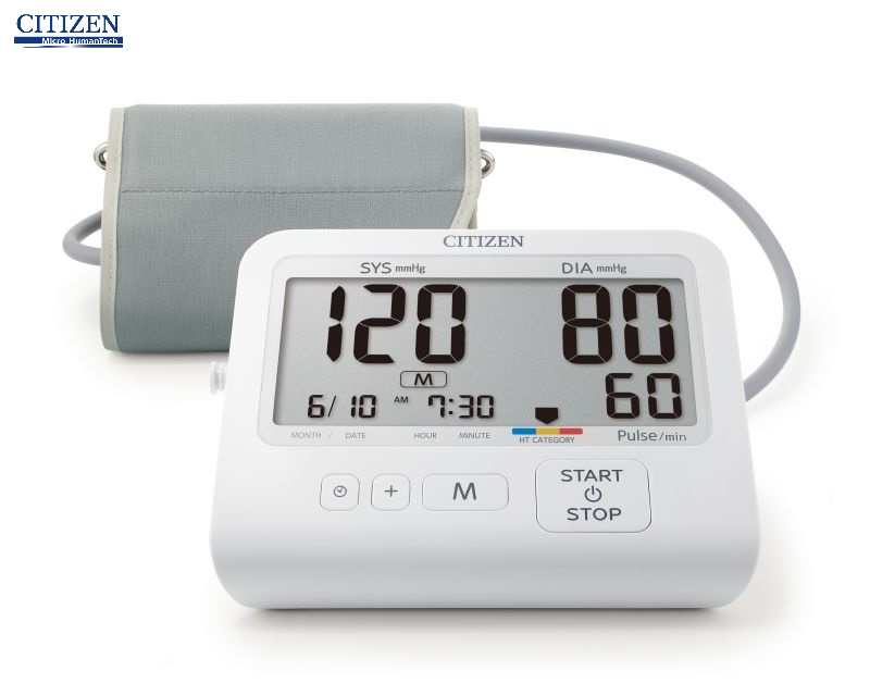 Máy đo huyết áp bắp tay Citizen CHU-503