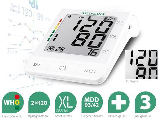 Máy đo huyết áp điện tử bắp tay Medisana BU 530
