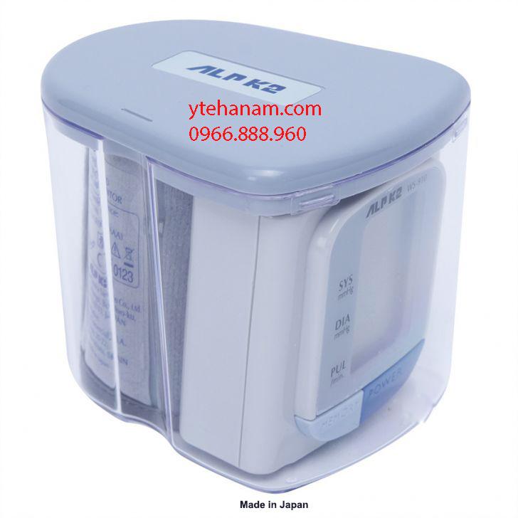Máy đo huyết áp cổ tay tự độngALPK2 WS-910