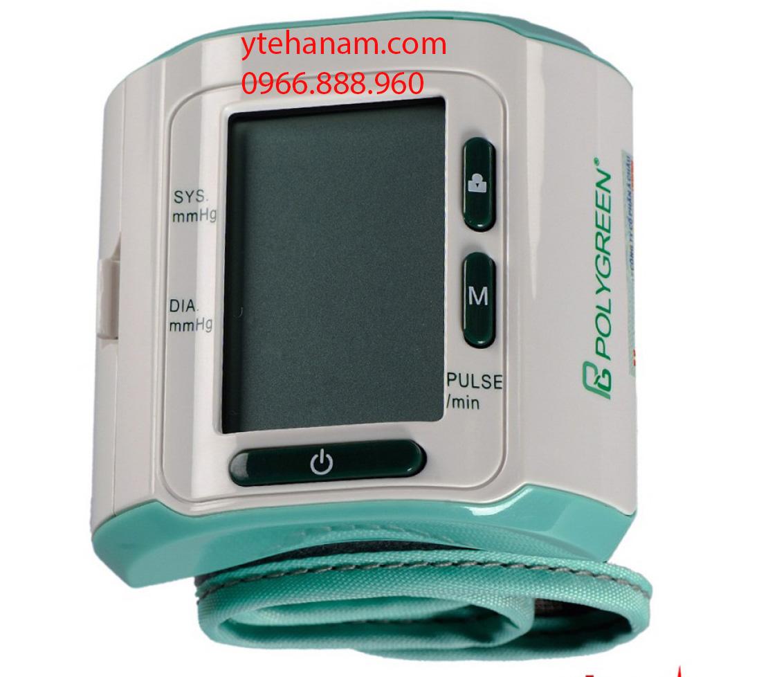 Máy đo huyết áp cổ tay điện tử tự động Polygreen KP-6241