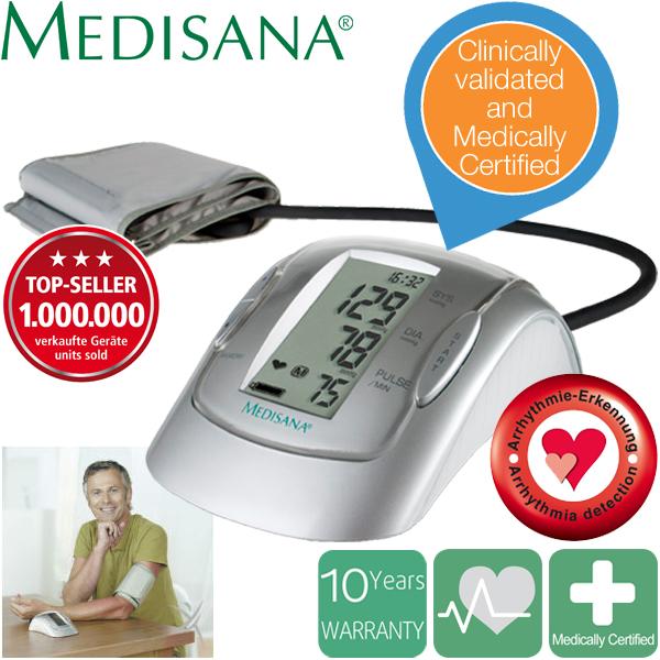 Máy đo huyết áp bắp tay Medisana MTP Plus