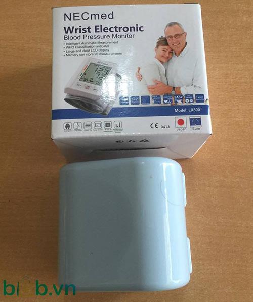 Máy đo huyết áp cổ tay NECmed LX800