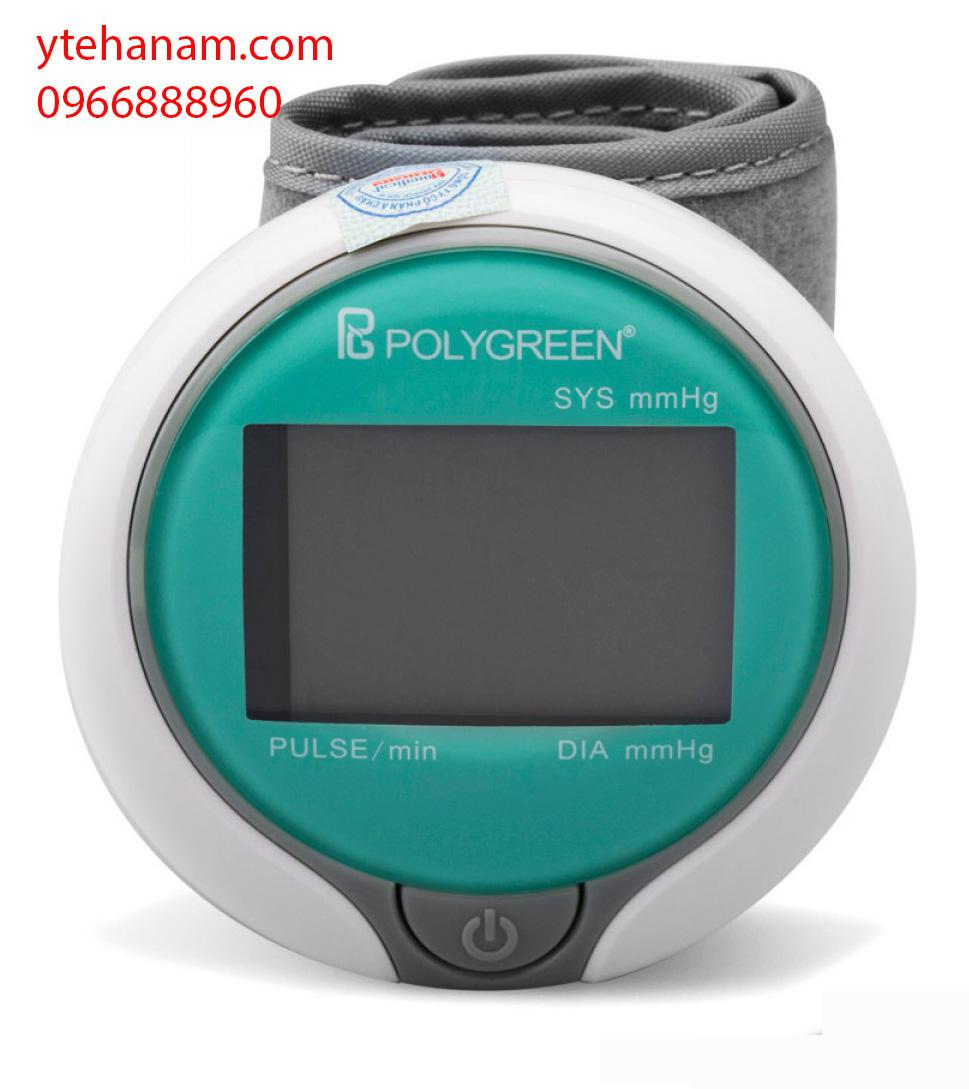Máy đo huyết áp cổ tay Polygreen KP-7030