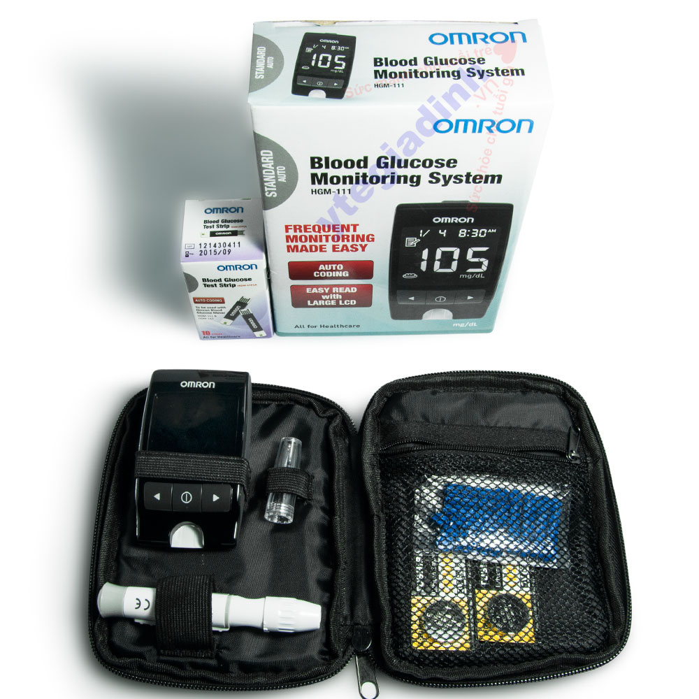Máy đo đường huyết Omron HGM-111