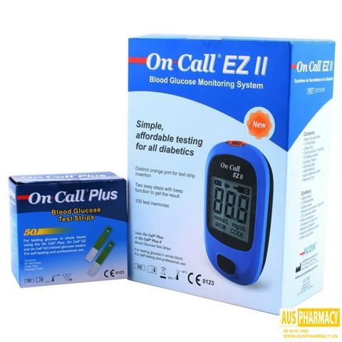 Máy đo đường huyết Acon On-Call EZII (EZ II) +