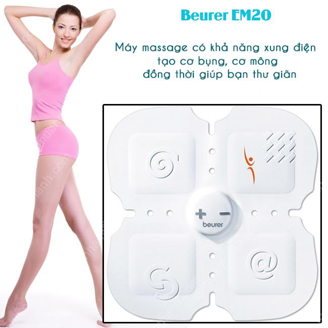 Máy massage xung điện tạo cơ bụng, cơ mông Beurer EM20 (EM 20)