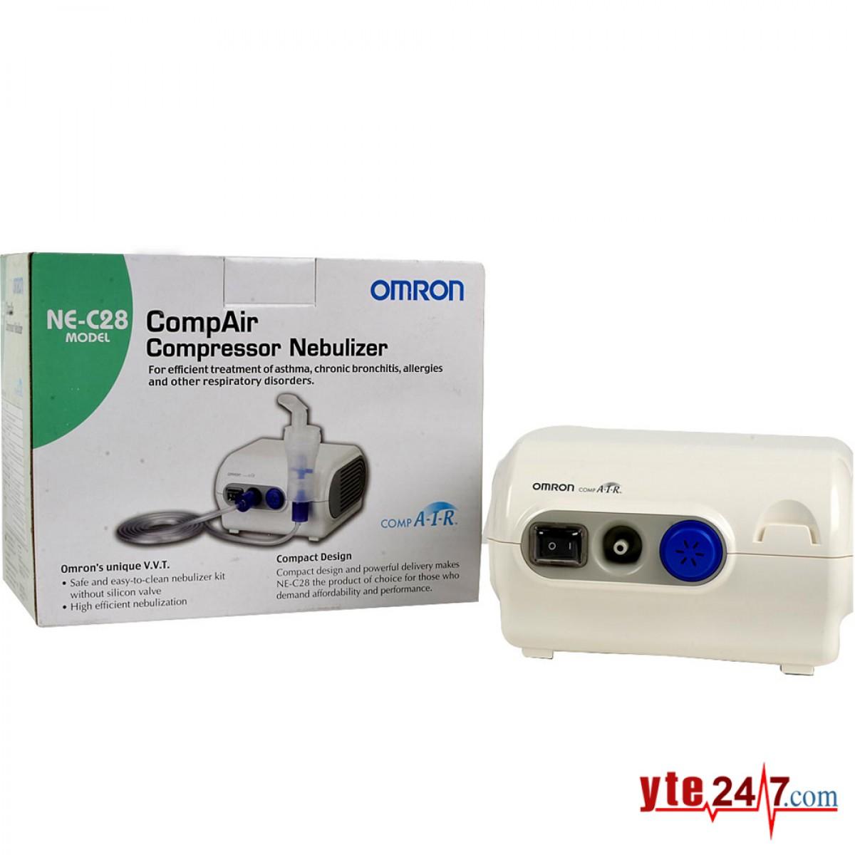 Máy xông mũi họng Omron NE-C28