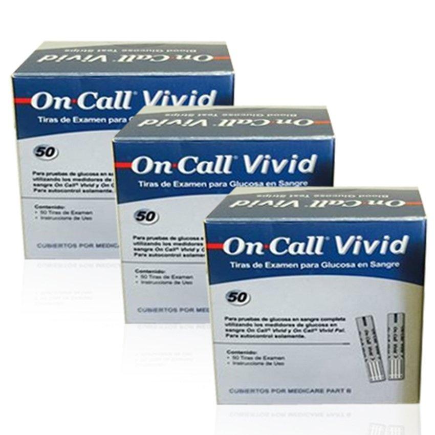 Que thử đường huyết ON-CALL Vivid