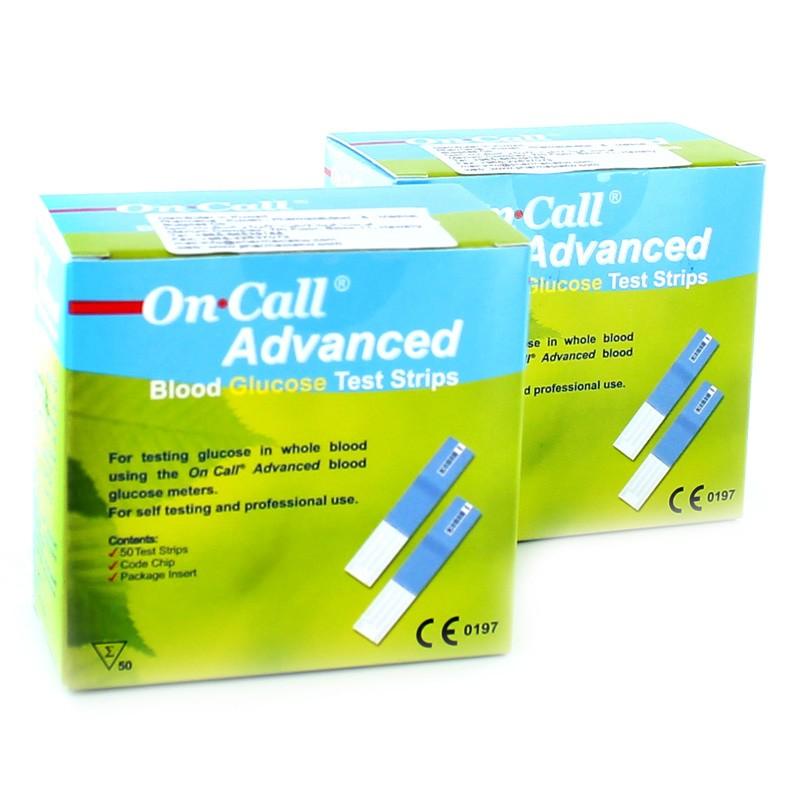 Que thử đường huyết ON-CALL Advanced