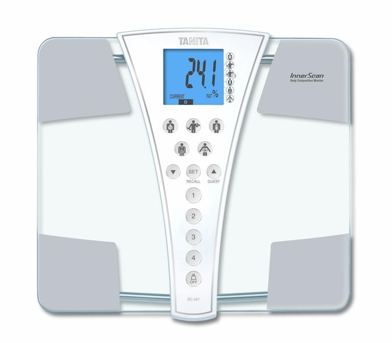 Cân sức khỏe và phân tích cơ thể Tanita BC-587