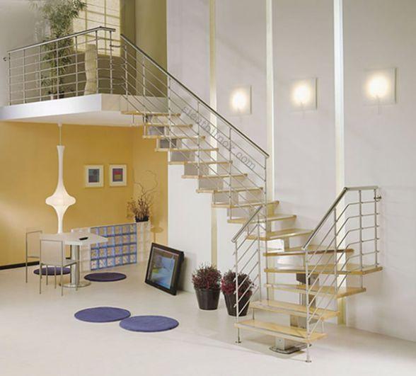 cầu thang nhỏ cho nhà hẹp