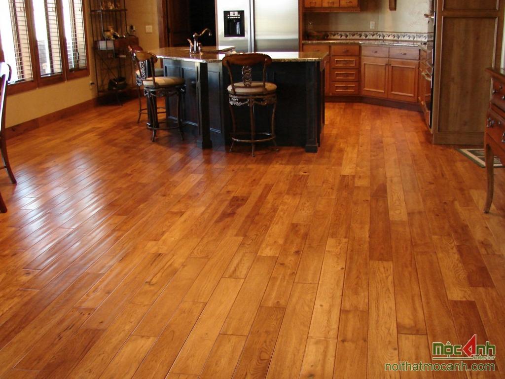 sàn gỗ mang phong cách cổ điển