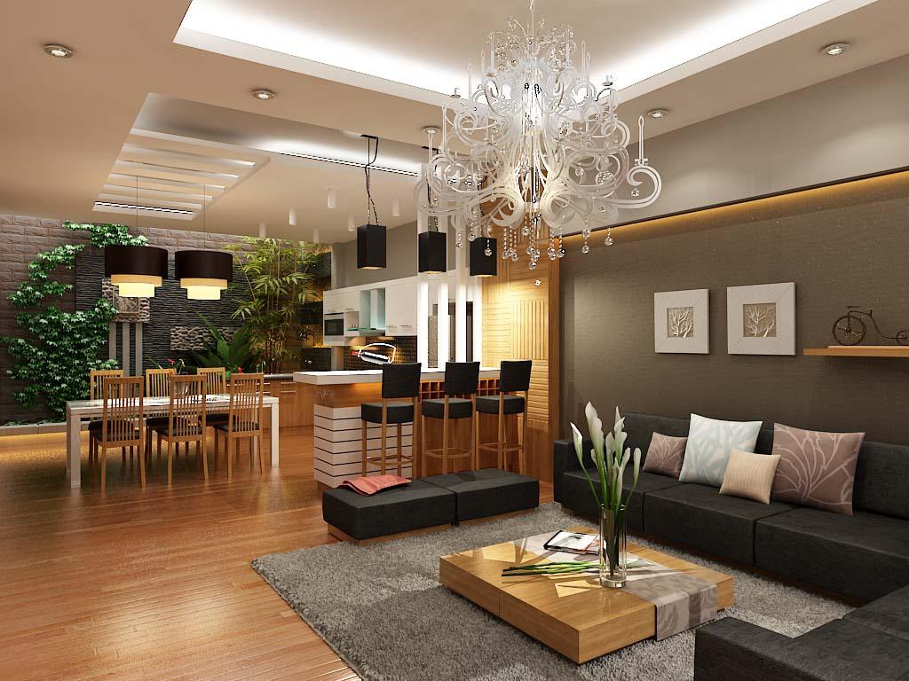 Sử dụng dịch vụ lắp đặt nội thất chung cư của Nguyễn Tiến