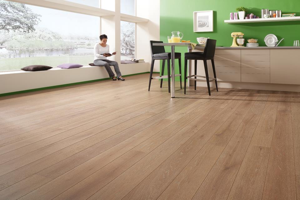 sàn gỗ phong cách cổ điển