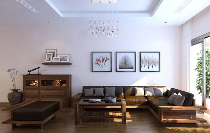 Bàn ghế sofa gỗ đẹp