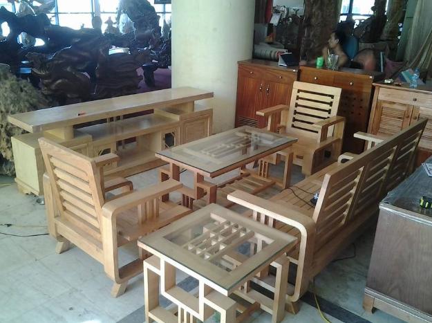 Bàn ghế gỗ đẹp mẫu số 3