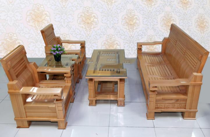 Bàn ghế gỗ đẹp mẫu số 2